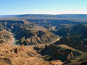 Fischfluss-Canyon