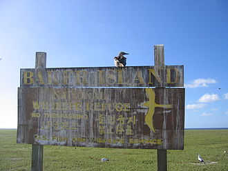 Baker Island - Image: Fish and Wildlife sign on Baker Island
