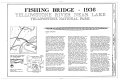 Fishing Bridge, Spanning Yellowstone River at East Entrance Road, Lake, Teton County, WY HAER WYO,15-YELNAP,3- (sheet 1 of 3).png