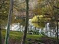Fishpond at Holbrook Gardens - geograph.org.uk - 1602756.jpg