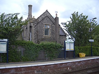 Fiskerton railway station - Image: Fiskerton Railway Station 1