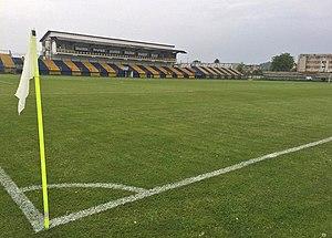 Stadionul Flacăra (Moreni) - Image: Flacara Moreni Stadium