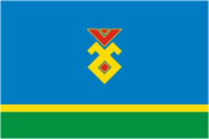 Iglinsky District - Image: Flag of Iglino rayon (Bashkortostan)