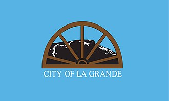 La Grande, Oregon - Image: Flag of La Grande, Oregon