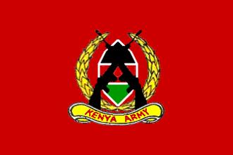 Kenya Army - Image: Flag of the Kenyan Army