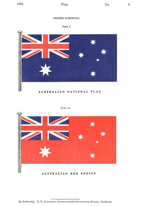 Flags Act 1953