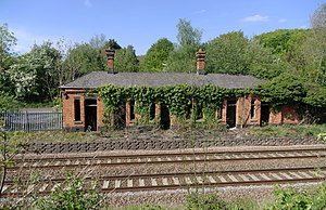Disused railway stations on the Bristol to Exeter Line - The main station building of 1893 at Flax Bourton as it stands today.
