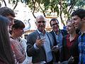 Flickr - Convergència Democràtica de Catalunya - Generals2011. Duran amb joves a Tarragona.jpg