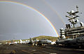 Flight Deck Rainbow, USS Harry S. Truman (CVN-75).jpg