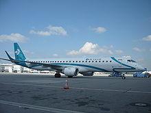 Il nuovo Embraer E-195 nella livrea Air Dolomiti