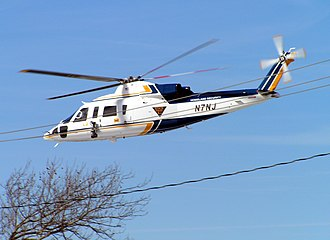 New Jersey State Police - A NJ State Police helicopter