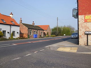 Foggathorpe Village and civil parish in the East Riding of Yorkshire, England
