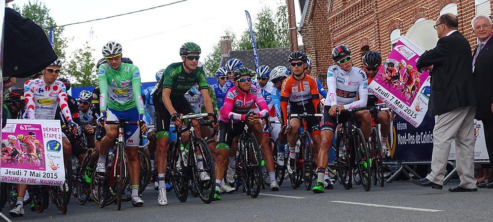 Fontaine-au-Pire - Quatre jours de Dunkerque, étape 2, 7 mai 2015, départ (C31).JPG