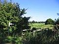 Footbridge and footpath, Stock, Essex - geograph.org.uk - 59844.jpg
