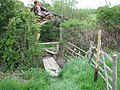 Footbridge near Elvey Farm - geograph.org.uk - 1291197.jpg