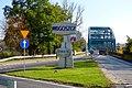 Fordon, Bydgoszcz, Polska . Wjazd na most w kierunku Torunia - panoramio.jpg