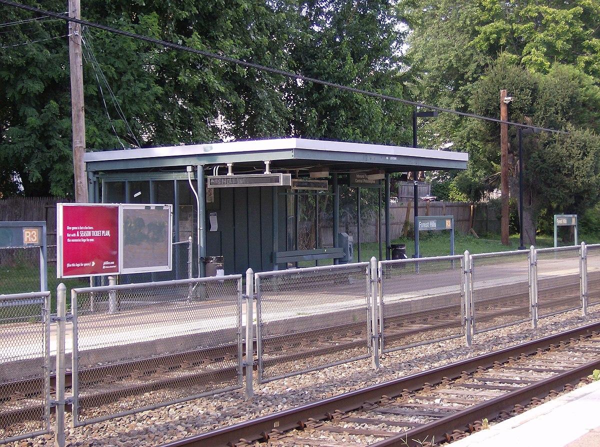 City Line Avenue >> Forest Hills station (SEPTA) - Wikipedia