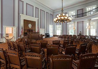 Alabama State Capitol - The restored House Chamber in 2016.