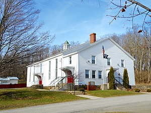 Le Raysville, Pennsylvania - Image: Former Le Raysville Pike School Q