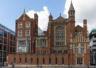 Sion College - The former Sion College building on Victoria Embankment