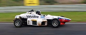 Formula LGB Hyundai - A Valvoline sponsored Formula LGB Hyundai of Rams Racing during 2008 sprint series race