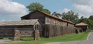 Fort Gibson - Fort Gibson Historical Area in 2001