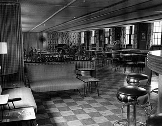 Mess - Fort Bragg NCO Club in 1954
