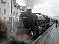 Fort William railway station 44871 The Jacobite.JPG