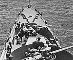 Forward 76 mm guns aboard USS Jacob Jones (DE-130), in January 1944 (80-G-44445).jpg