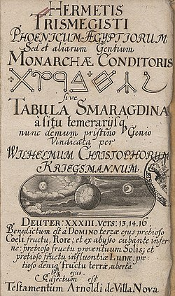 Emerald Tablet - Wikipedia