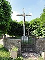 Foulzy (Girondelle, Ardennes) Croix de chemin.JPG