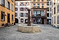 Fountain at Grande Rue in Belfort.jpg