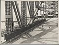 Four trains on the Harbour Bridge, 1932 (8283748522).jpg