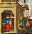 Fra Angelico - Story of St Nicholas - Birth of St Nicholas (detail) - WGA00502.jpg