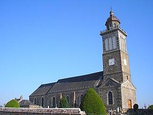 L'église Saint-Amand.