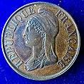 France 1870 Medal Paris Commune Manifestation on 8 October, obverse.jpg