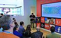 Frank La Vigne demonstrates his Job Radar Metro Style App (6857362276).jpg