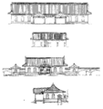 Franz Baltzer's Original Plan of Imperial Equipment of Tokyo station.png