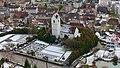 Franzoseneinfall (Schweiz) - 1798 - Pieterlen - Ortskern mit Kirche.jpg