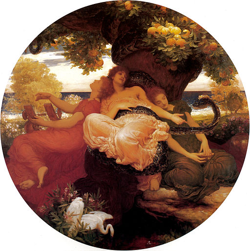 Frederic Leighton - The Garden of the Hesperides, 1892