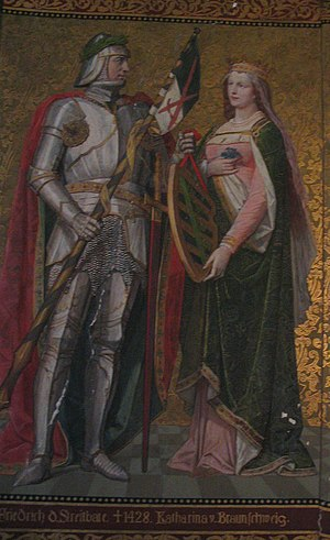 Catherine of Brunswick-Lüneburg - Catherine and her husband Frederick I.