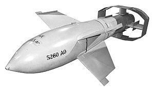 Fritz X - Fritz X guided bomb at the National Museum of the United States Air Force.