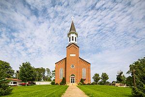 Fulda, Indiana - St. Boniface's Catholic Church