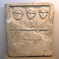 Funerary relief from the monument of Onessimos and his family (8726699040).jpg