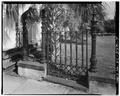 GATE DETAIL - Centenary Methodist Church, 60 Wentworth Street, Charleston, Charleston County, SC HABS SC,10-CHAR,325-4.tif