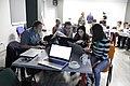 GLAM forum in Yerevan, workshop for wikieditors on Wikidata 28.jpg