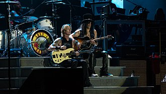 Duff McKagan - McKagan alongside Slash in 2018