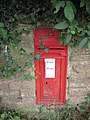 GR postbox, Cut Throat Lane - geograph.org.uk - 912655.jpg
