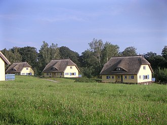 Vacation rental - Vacation cottages with thatched roofs on Vilm Island, near Rügen in Germany