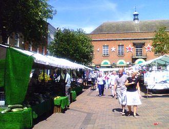 Gainsborough, Lincolnshire - Market Place